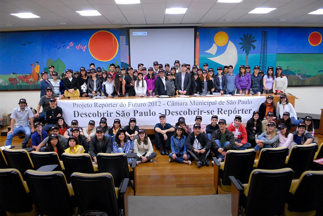 Projeto Repórter do Futuro 2012 - Câmara Municipal de São Paulo